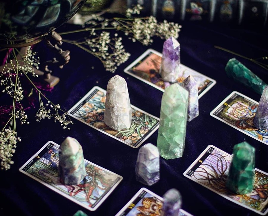 Mystic beauty: unpacking the crystal healing make-up trend | Dazed
