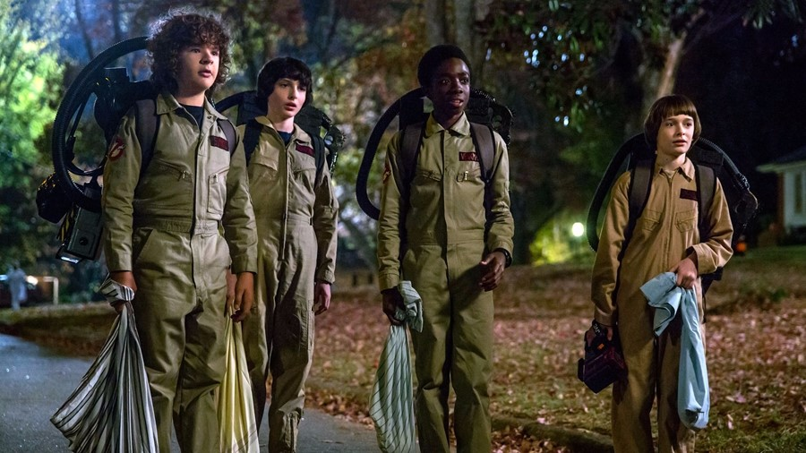 Stranger Things - Ghostbusters