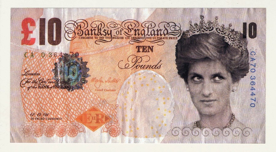 The British Museum now owns one of Banksy's fake Princess ...