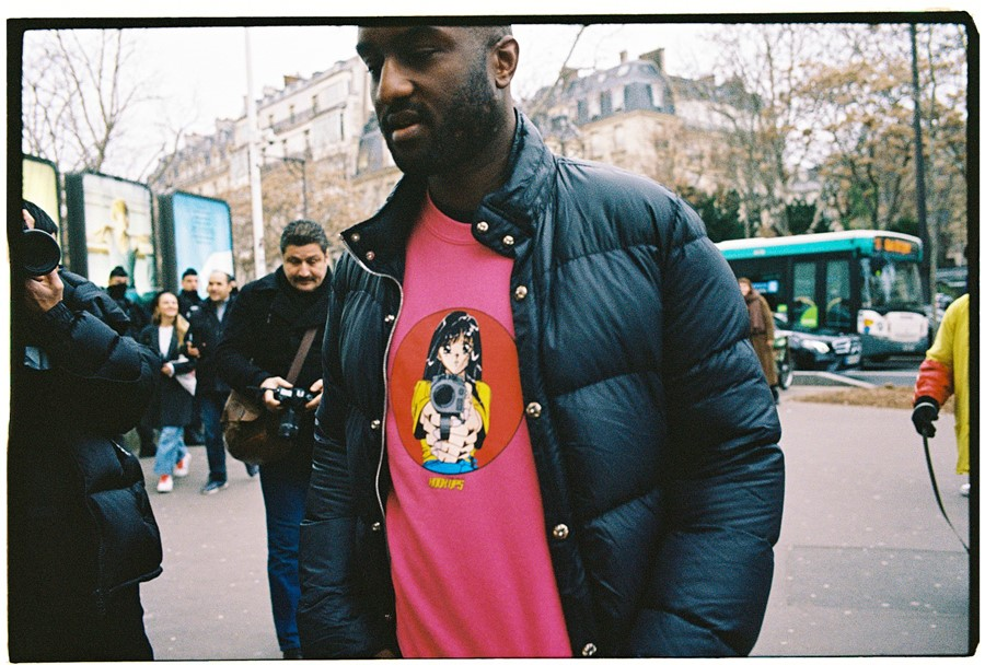 Yu Fujiwara Paris Fashion Week Menswear AW19 Virgil Abloh