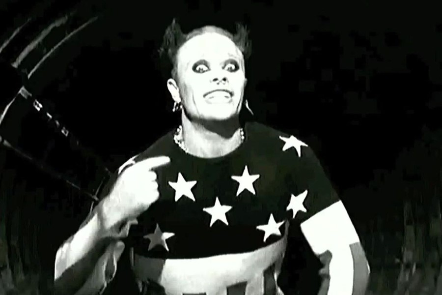 Keith Flint - Firestarter video