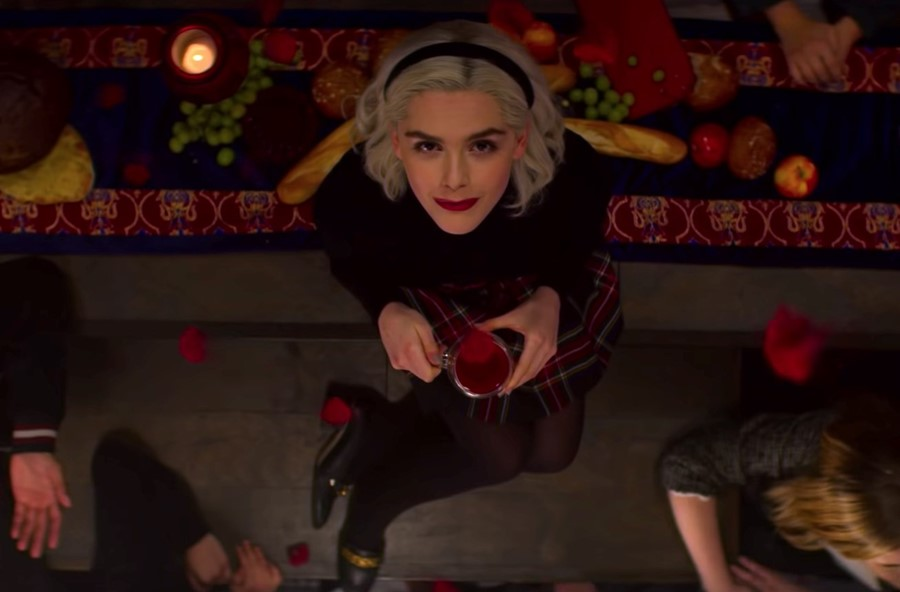 Kiernan Shipka Debuts 'Chilling Adventures of Sabrina' Part 2 Trailer - Watch Here!