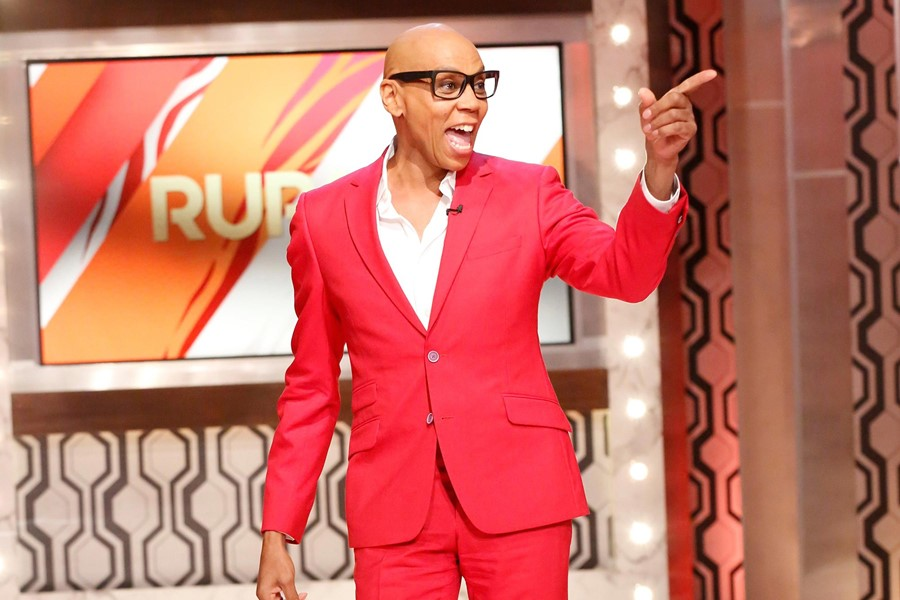 Rupaul on Rupaul talk show