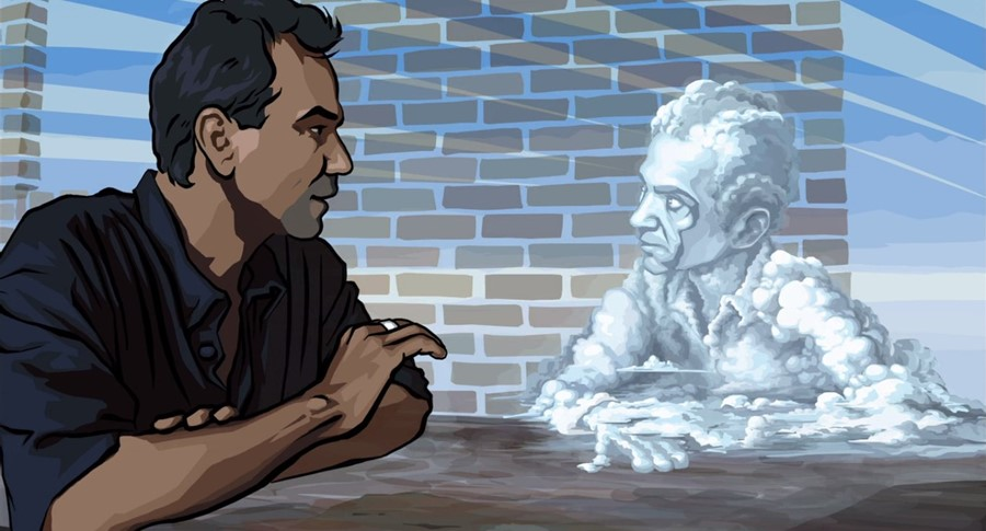 What Richard Linklater's Waking Life can teach us in a daunting era
