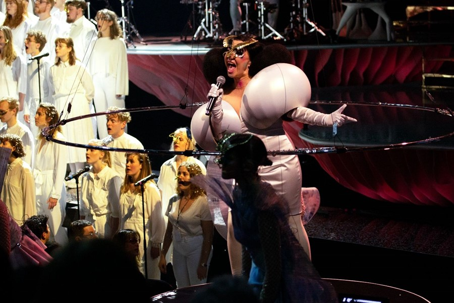Björk's Cornucopia at The Shed, New York City