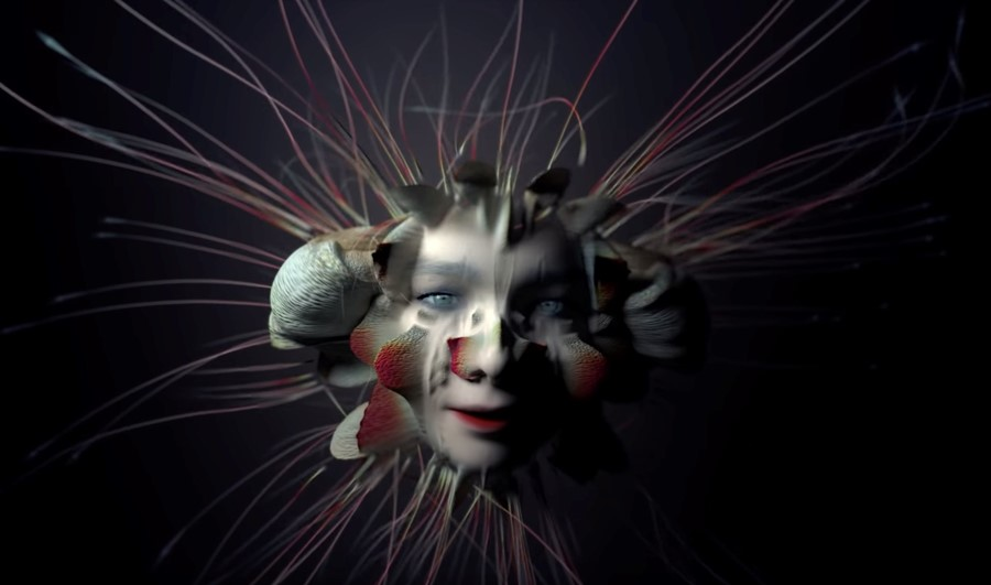 Still from Björk's new Tabula Rasa video