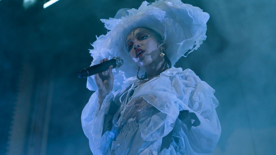 FKA twigs at Alexandra Palace