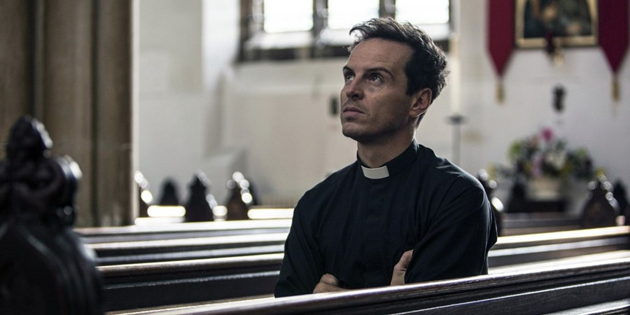 Andrew Scott as Hot Priest in Fleabag