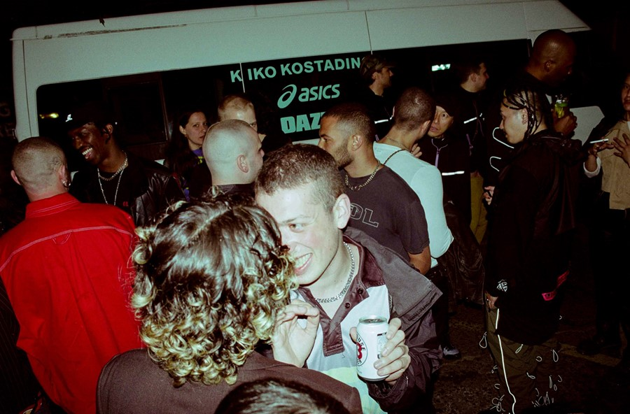 kiko kostadinov ss20 party london fashion week menswear