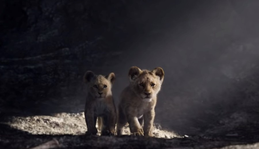 Still from The Lion King Official Trailer