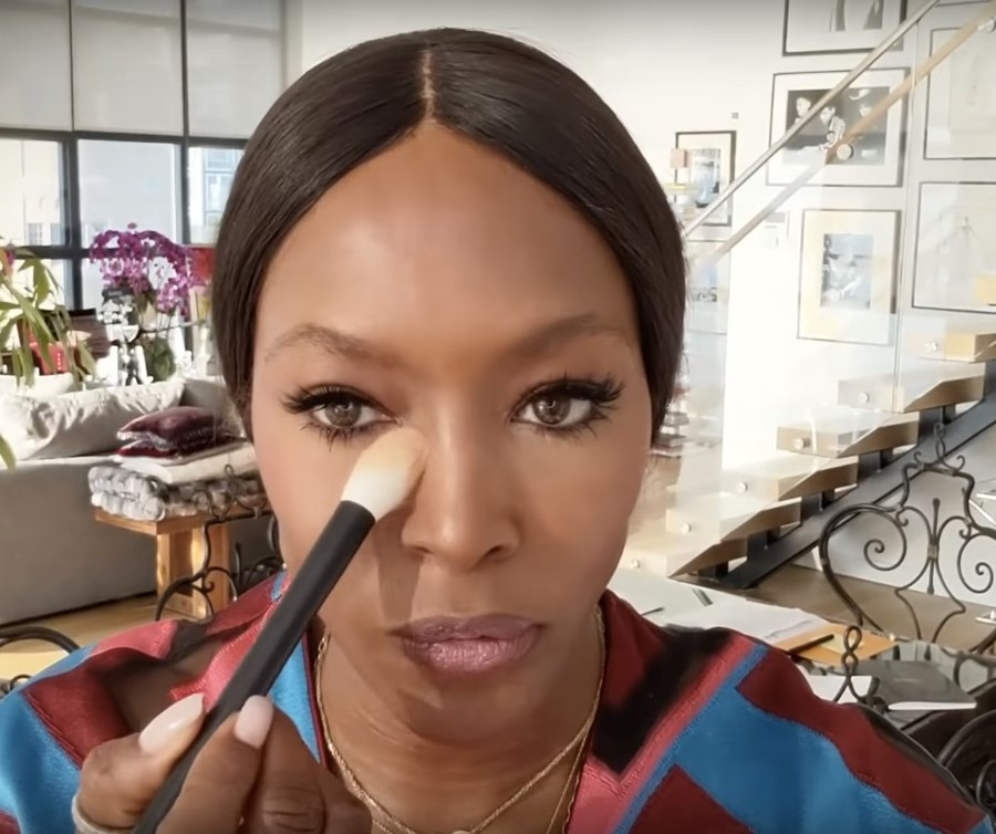 Naomi Campbell shares her beauty secrets in new make-up tutorial
