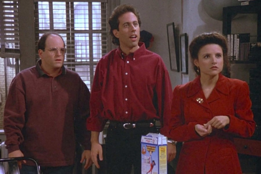 Seinfeld was a show about dudes that paved the way for women wanking on TV