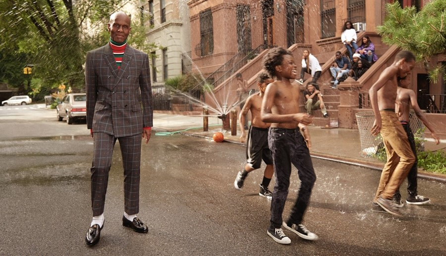 Dapper Dan in the Gucci Cruise 2018 campaign