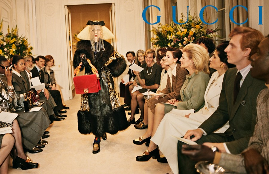 5ac1d9161ac0 Gucci's new campaign is a fashion throwback extravaganza | Dazed