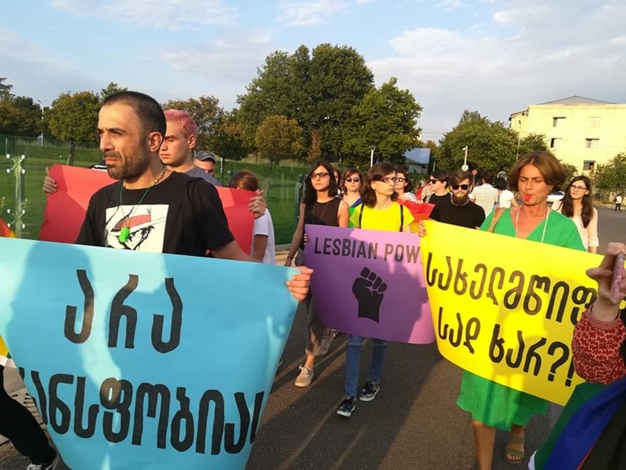 Tbilisi Pride march 2019 Georgia LGBTQ+ community