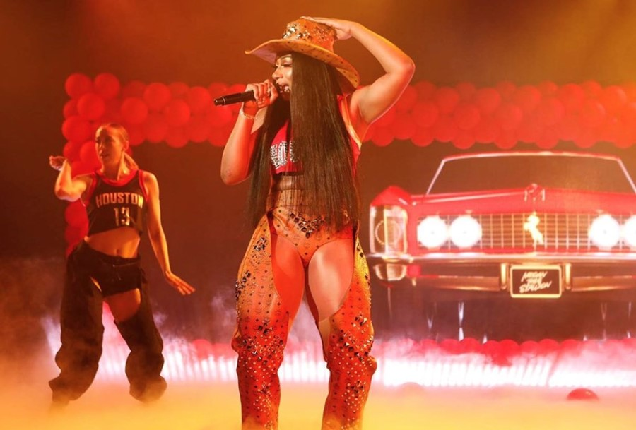 Megan Thee Stallion on Jimmy Kimmel