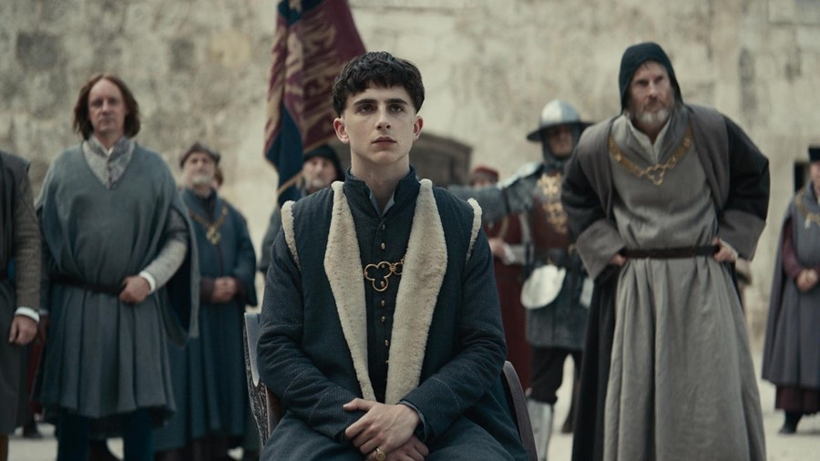 Timothee Chalamet the king film trailer