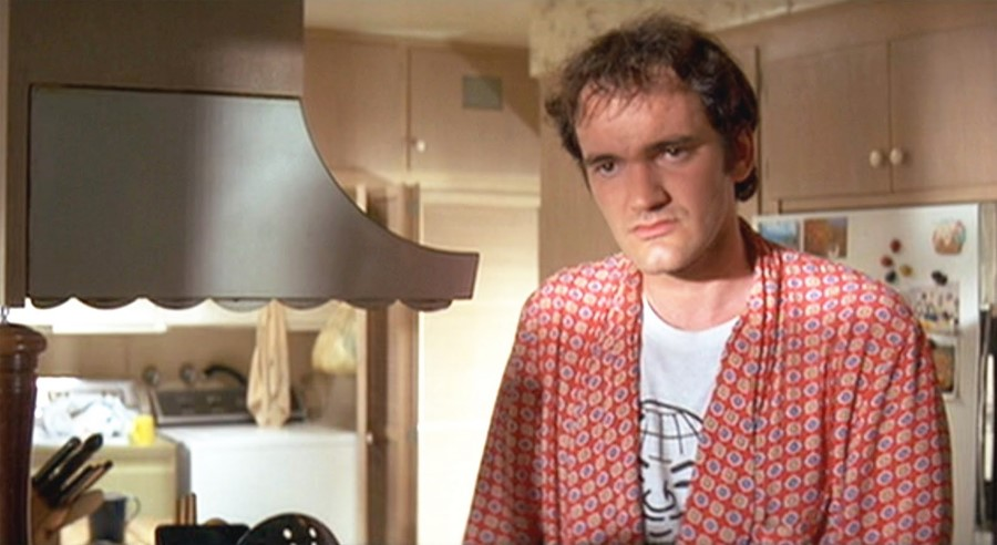 Quentin Tarantino in Pulp Fiction