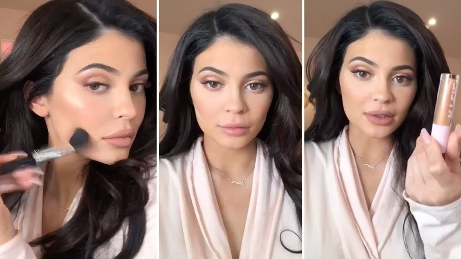 Kylie Jenner beauty tutorial