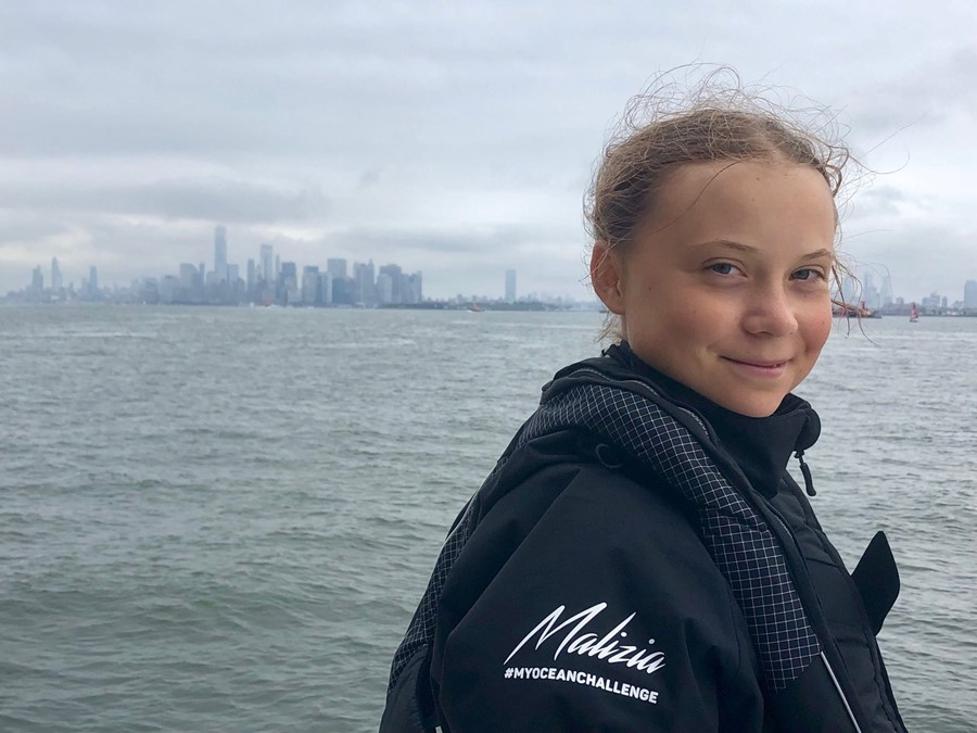 Greta Thunberg: young activists will push leaders to address climate crisis