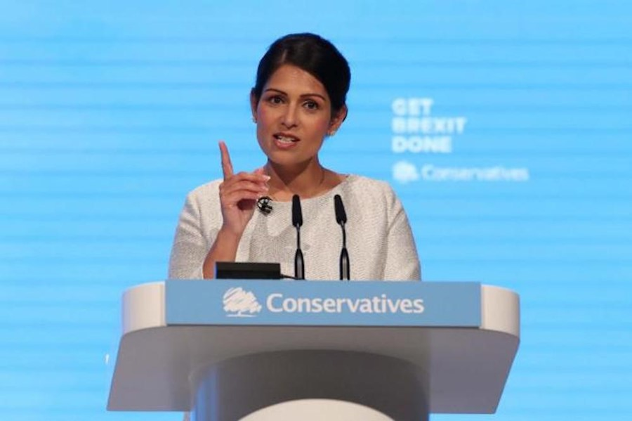 Priti Patel is smugly seizing freedom from generations of immigrants