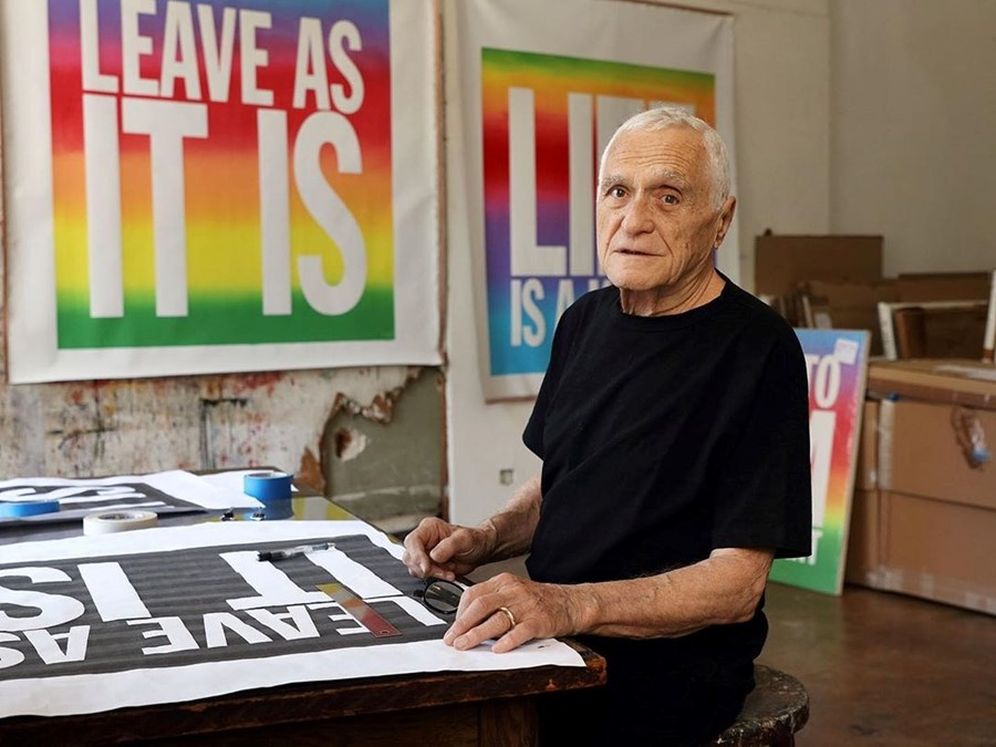 John Giorno, poet, artist, and Warhol muse