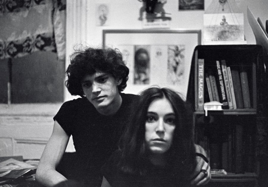 Patti Smith and Robert Mapplethorpe 1