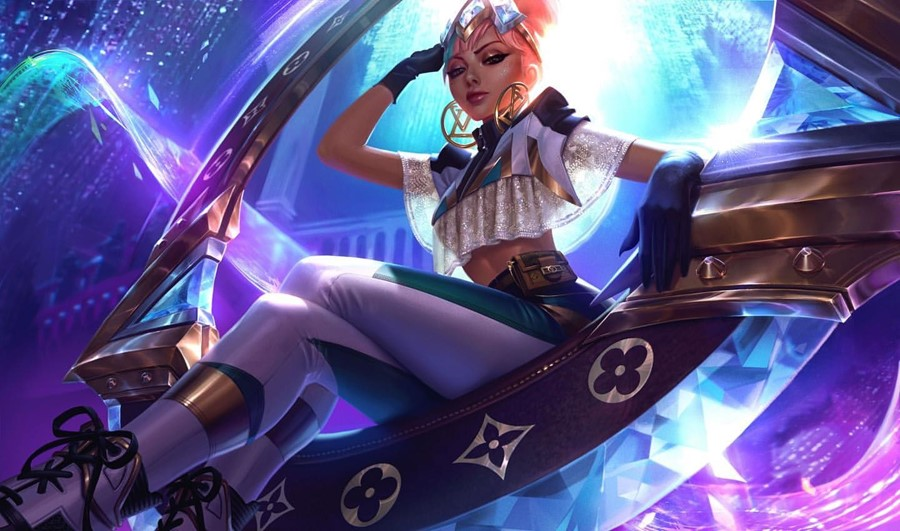 Louis Vuitton has collaborated with League of Legends