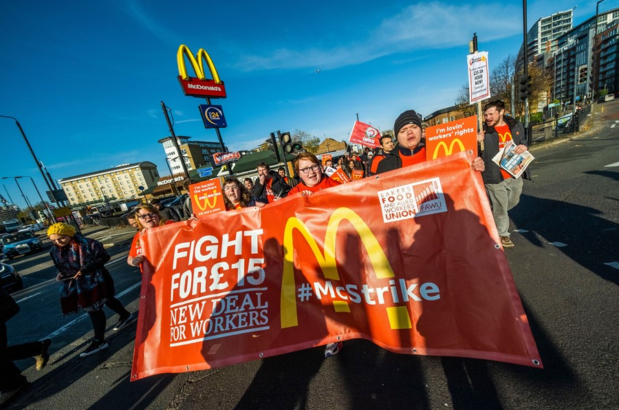 Talking to McDonald's workers about why they're protesting