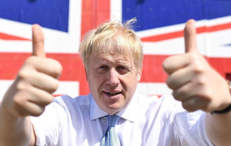 There's a Twitter account posting passages of Boris Johnson's awful book