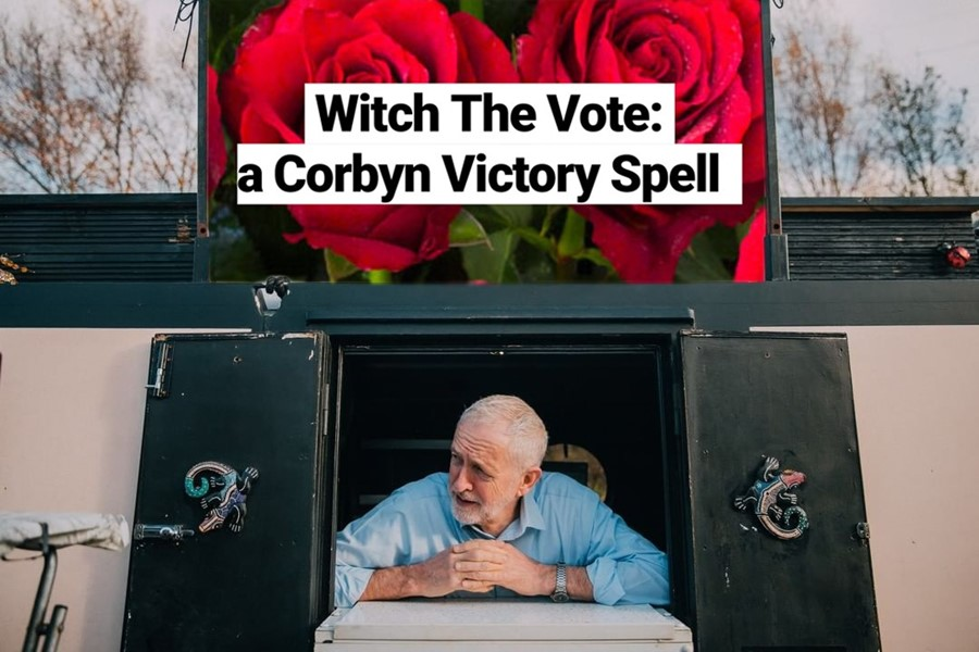 Witches are casting spells for a Labour victory
