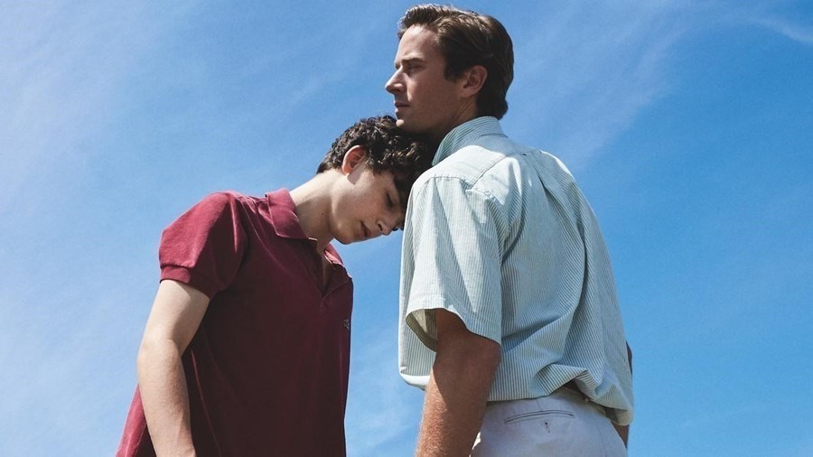 Call Me By Your Name Elio and Oliver Luca Guadagnino