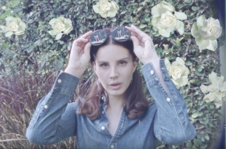 Lana Del Rey in the Norman Fucking Rockwell video