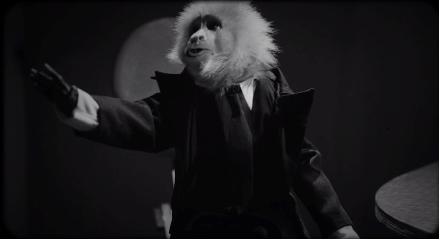 David Lynch and the monkey from What Did Jack Do? just released two songs