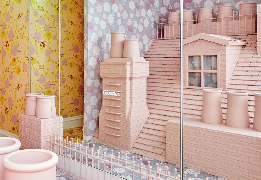 glossier pop up london covent garden