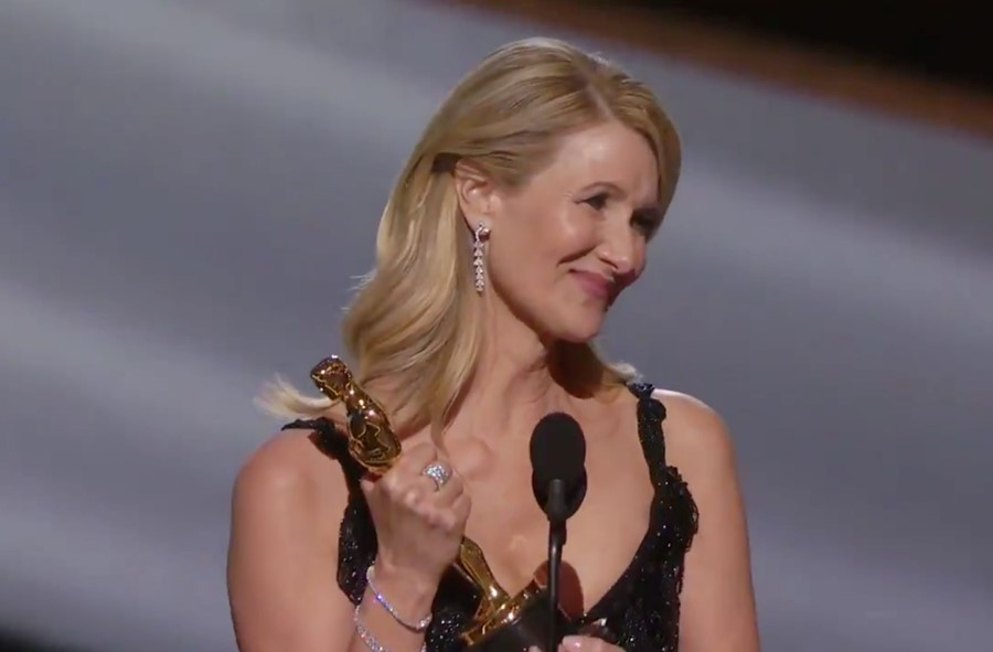 5 pieces of wisdom from Laura Dern's moving Oscars speech