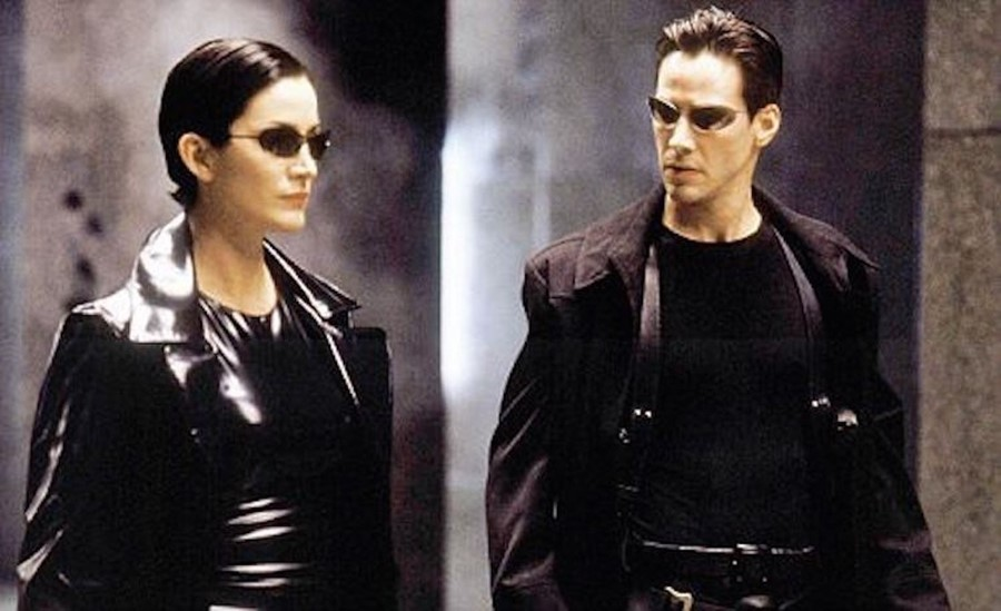See behind-the-scenes Matrix 4 footage