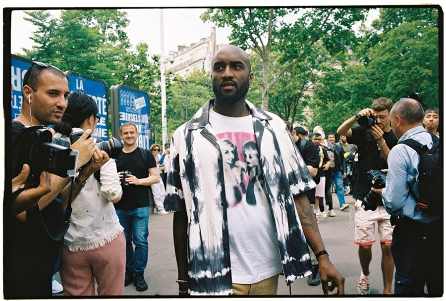 Virgil Abloh at Paris Men's Fashion Week SS20