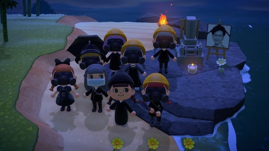 Animal Crossing protest