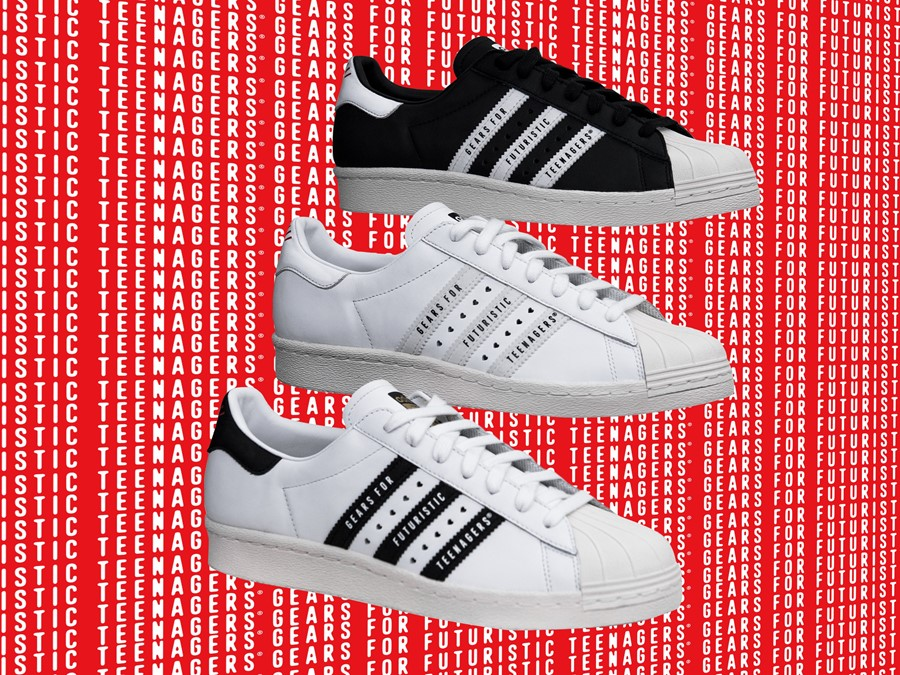 adidas originals human made superstar nigo