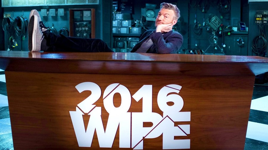 Charlie Brooker 2016 wipe