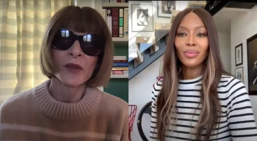 Naomi Campbell Anna Wintour no filter youtube fashion