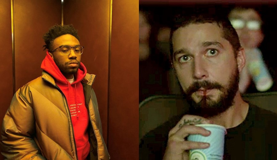 Shia LaBeouf and Kevin Abstract