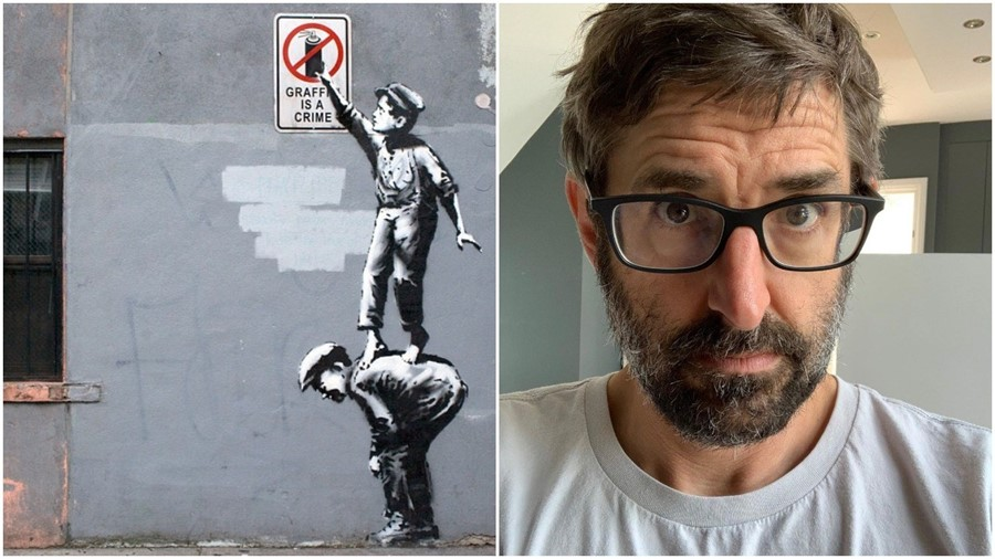 Louis Theroux met Banksy in 2001
