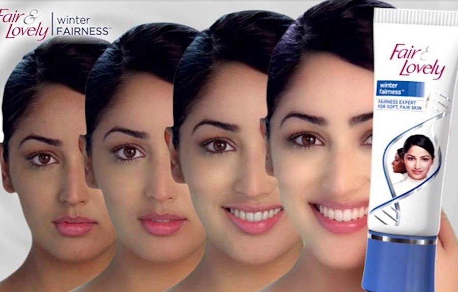 fair and lovely colourism ad Unilever skin whitening