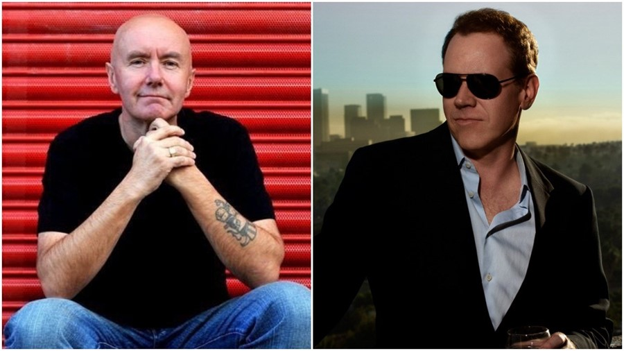 Irvine Welsh and Bret Easton Ellis