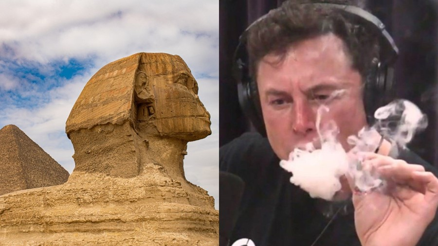 Elon Musk says the Egyptians pyramids were built by aliens