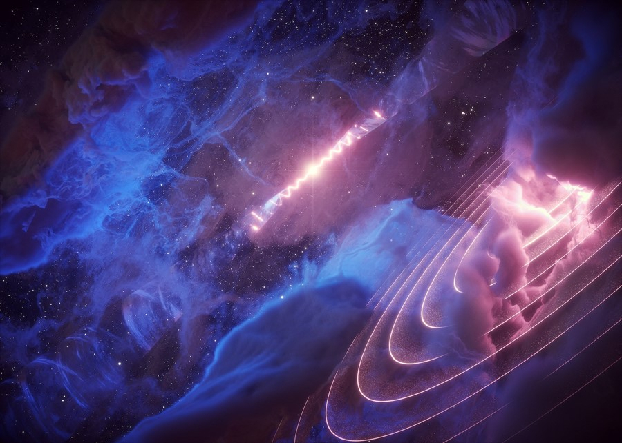 Scientists Detect Mysterious 'Heartbeat' Coming from Cosmic Gas Cloud