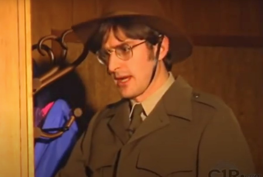 Louis Theroux star in a 1997 gay porn film