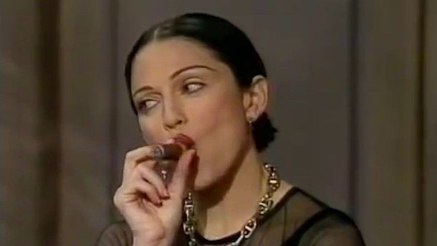 MADONNA AT THE DAVID LETTERMAN SHOW (1994)